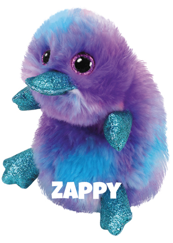 """Zappy hat am 15. September Geburtstag. """"I'm a platypus who likes to swim So I'll never, never need a gym!"""""""