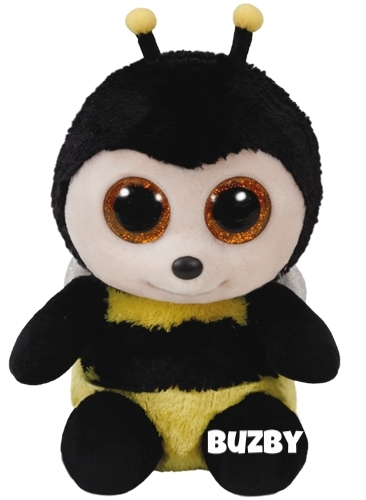 """Buzby is op 14 april jarig. """"I'm a very busy bee / I fly so high it makes me dizzy"""""""