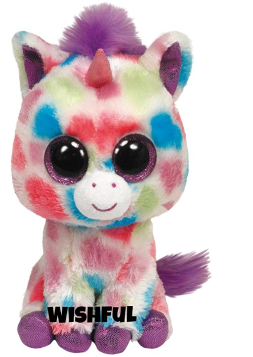 "Wishful is op 10 november jarig. ""The best part of being a unicorn / Is giving wishes with my magical horn!"""