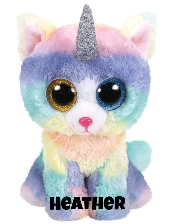"""Heather hat am 26. April Geburtstag. """"I was a cat when I was born Then I magically grew a horn I know that this is not the norm But now I am a unicorn!"""""""
