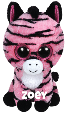 "Zoey is op 18 april jarig. ""Hello...I am Zoey, Africa is my home My zig zag stripes keep me safe as I roam!"""