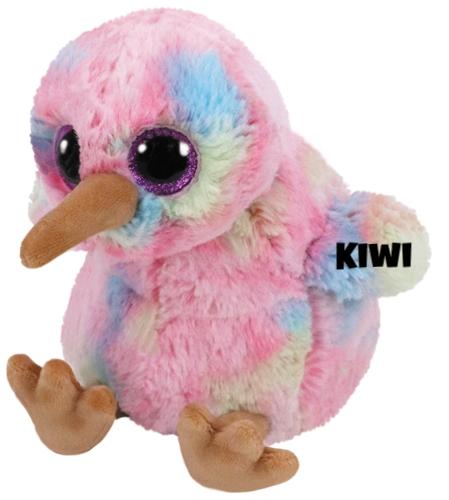 """Kiwi hat am 4. März Geburtstag. """"I am a kiwi, like the fruit I lack a tall but I'm still cute"""""""
