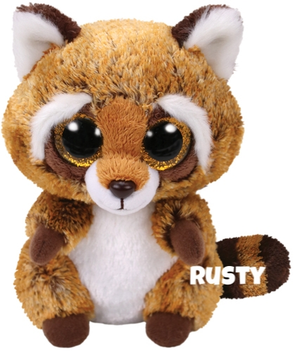 "Rusty is op 11. juli jarig. ""I know it's stinky but it's true / I really love my garbage stew!"""