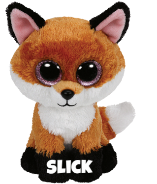 """Slick is op 1 mei jarig. """"I'm sly in the forest, I hide under wood / A visit from hunters would never be good."""""""