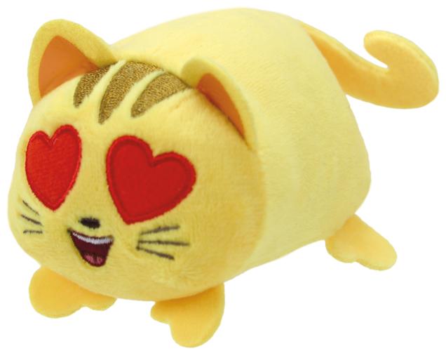 Katze mit Herzaugen