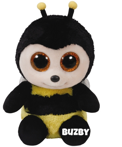 "Buzby hat am 14. April Geburtstag. ""I'm a very busy bee / I fly so high it makes me dizzy"""