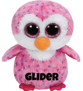 "Glider is op 4 augustus jarig. ""I glide on the ice and rest in the sun / Then I make a big splash and that's a lot of fun!"""