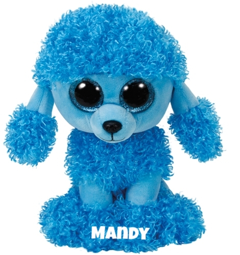 """Mandy is op 8 maart jarig. """"My favorite time to have lots of fun / Is when I can run and play in the sun."""""""