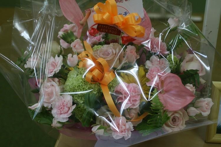 高校時代の友人からお花が届きました♪