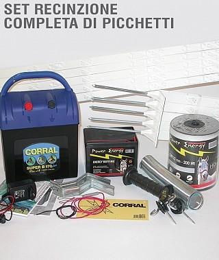 Elettrificatori e kit selleria la colombaia articoli for Recinzione elettrica per cavalli