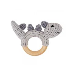 Sindibaba Bio-Spielzeug Rassel Dinosaurier - zuckerfrei | Kids Concept Store