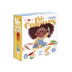 Londji I Love My Colours Puzzle - zuckerfrei | Kids Concept Store