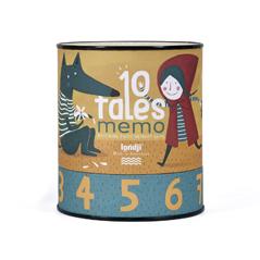 Londji - 10 Tales Memo Märchen Memory-Spiel - zuckerfrei | Kids Concept Store