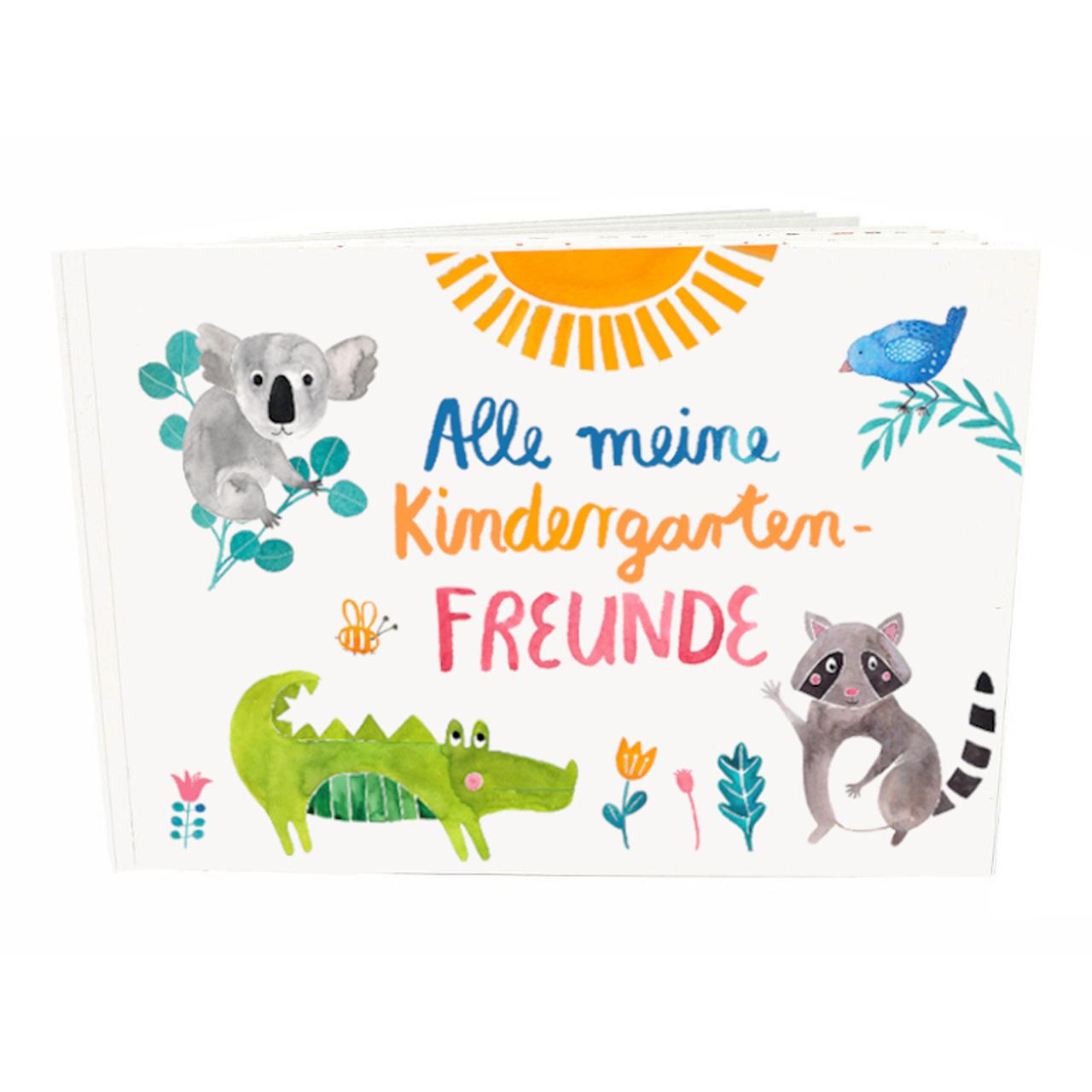Frau Ottilie Kindergarten-Freundebuch - zuckerfrei | Kids Concept Store