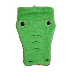 Fürnis Tier-Waschlappen Krokodil Bio-Baumwolle - zuckerfrei | Kids Concept Store