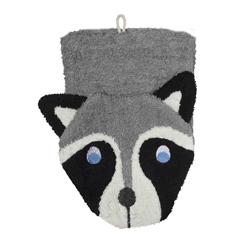 Fürnis Tier-Waschlappen Waschbär Bio-Baumwolle - zuckerfrei | Kids Concept Store