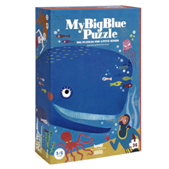 Londji My Big Blue Puzzle - zuckerfrei | Kids Concept Store