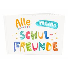 Frau Ottilie Schul-Freundebuch Alle meine Schulfreunde - zuckerfrei | Kids Concept Store