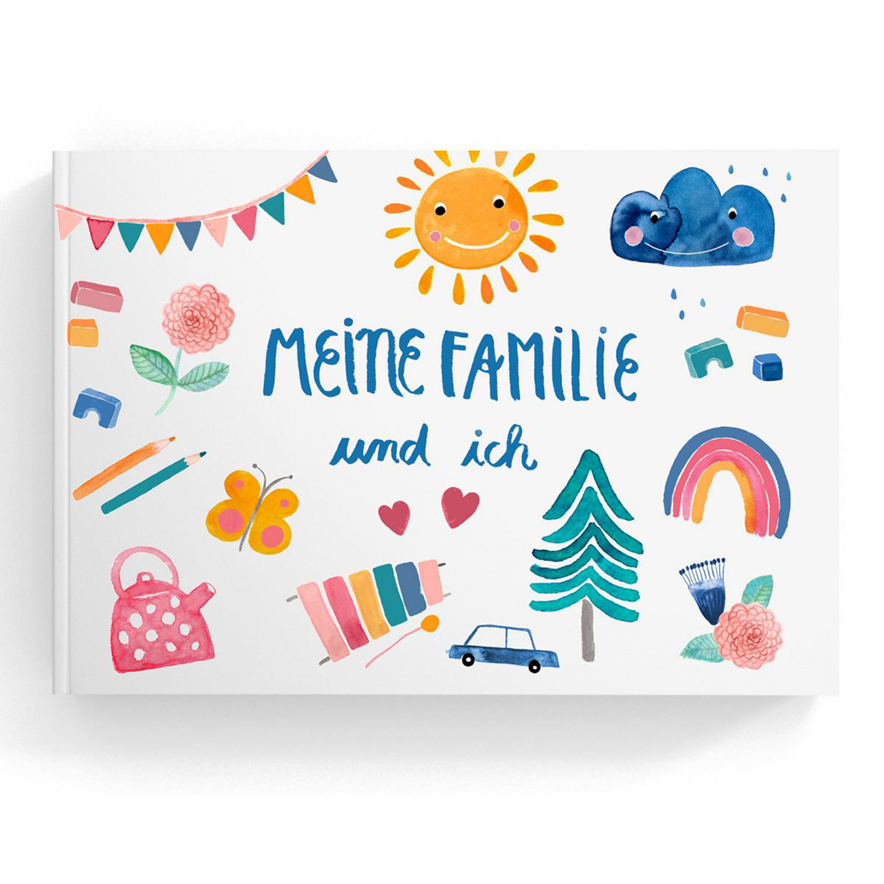 Frau Ottilie Familienbuch - zuckerfrei | Kids Concept Store