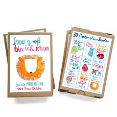 Frau Ottilie Baby Meilensteinkarten Erinnerungskarten milestone cards - zuckerfrei | Kids Concept Store