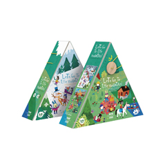 Londji Let's Go To The Mountain Puzzle - zuckerfrei | Kids Concept Store