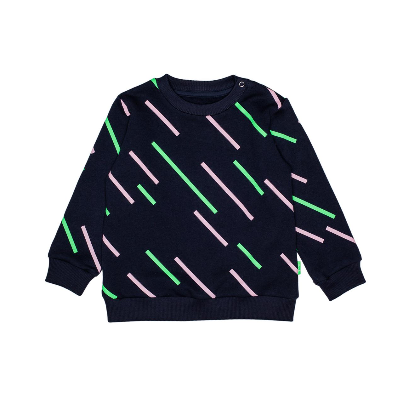 Freh Kinder-Pullover Sweatshirt Neon handmade Bio-Baumwolle - zuckerfrei | Kids Concept Store