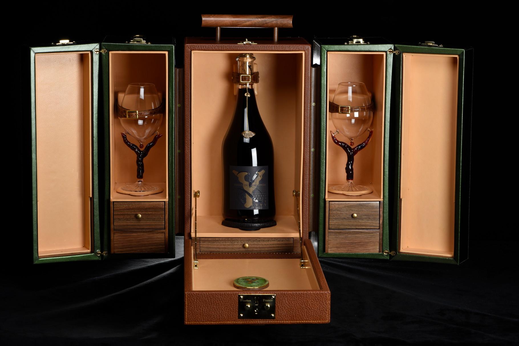 Réalisation de verres à vin pour la maison O'Nolan et Terres de l'Amandyère