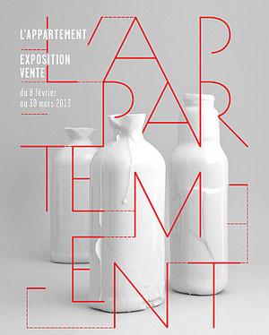 """Exposition """"L'appartement"""" organisée par les Ateliers d'Art de France à Paris"""