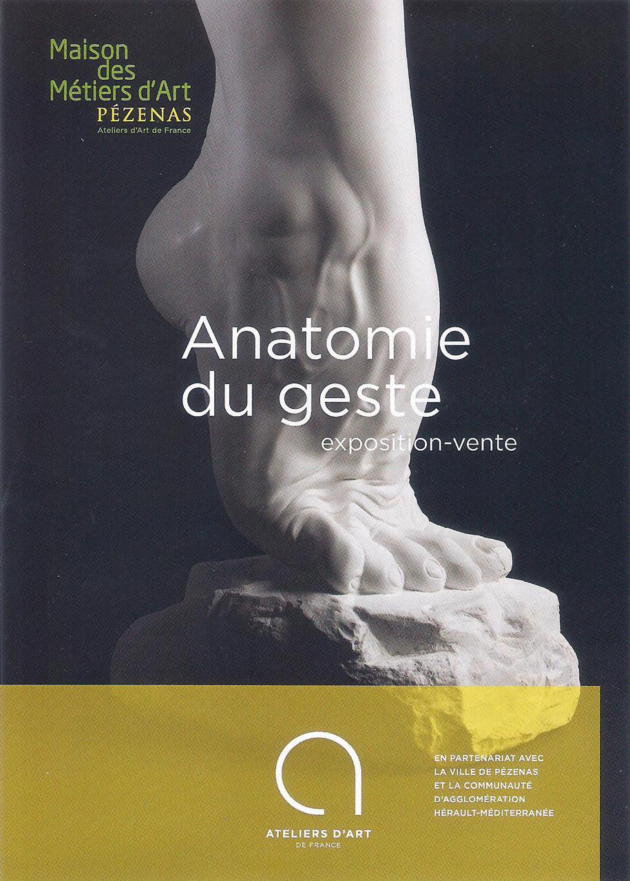"""Exposition """"Anatomie"""" organisée par les Ateliers d'Art de France"""
