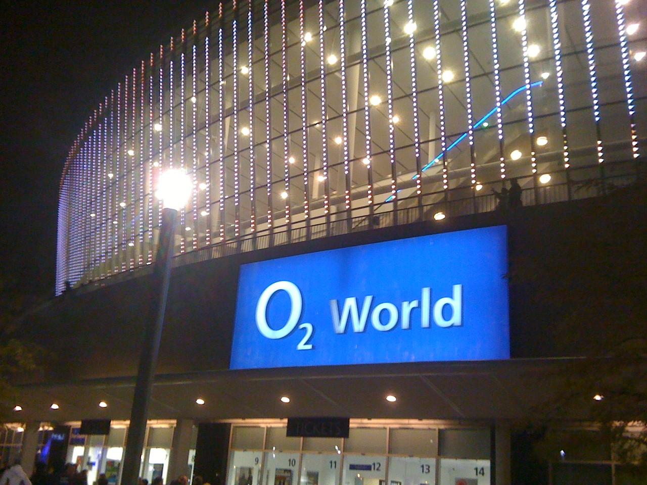 Elton John in der O2-Arena..