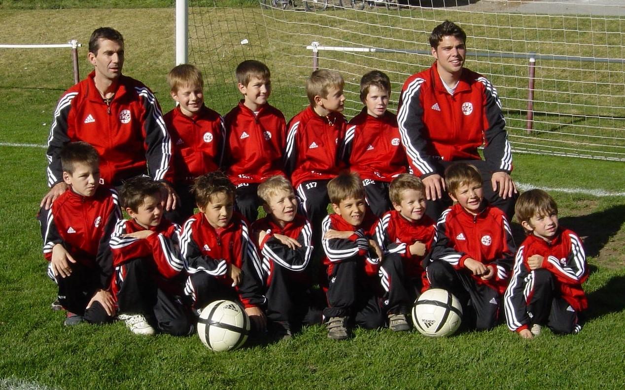 Junioren E und Fussballschule 2005