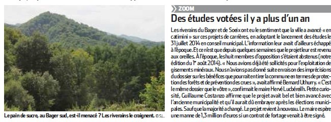 La République des Pyrénées 14 août 2015