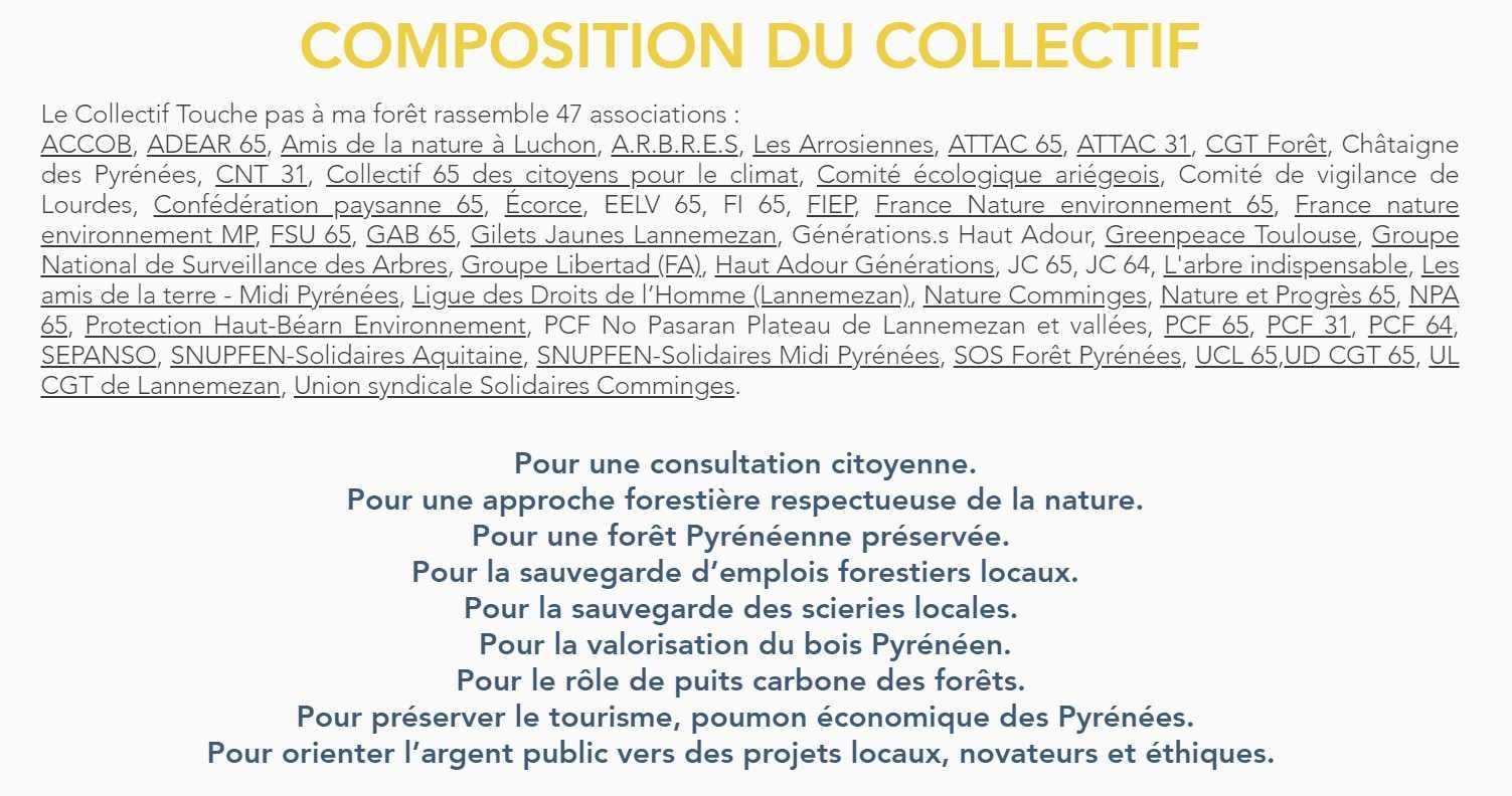 """TPAMF (Composition de """"Touche Pas A Ma Forêt"""" Lannemezan)"""
