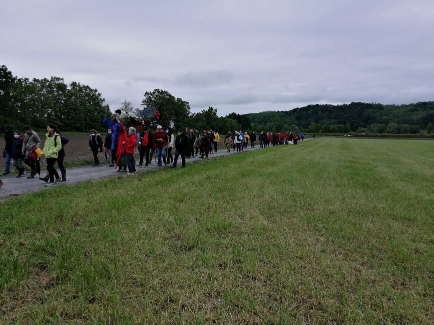 Une manifestation très réussie sur le terrain malgré le mauvais temps