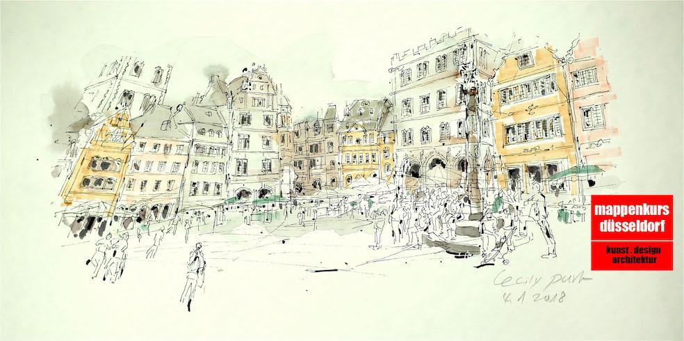 Mappenkurs Trier Rheinland-Pfalz, Mappenvorbereitung, Mappenvorbereitungskurs