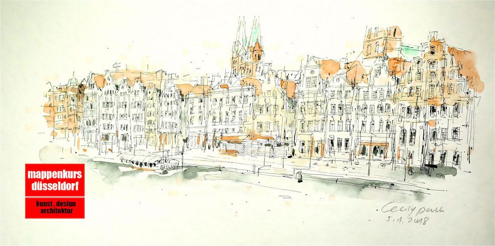Mappenkurs Lübeck Schleswig Holstein, Mappenvorbereitung, Mappenvorbereitungskurs