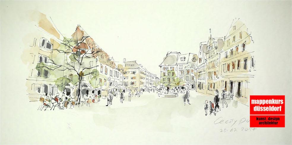 Mappenkurs Düsseldorf NRW, Kommunikationsdesign, Modedesign, Bielefeld