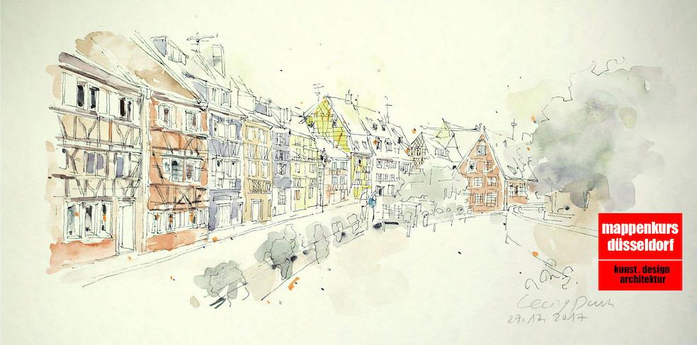 Mappenkurs Düsseldorf NRW, Architektur, Kunst-& Designstudium, Illustration, Freiburg