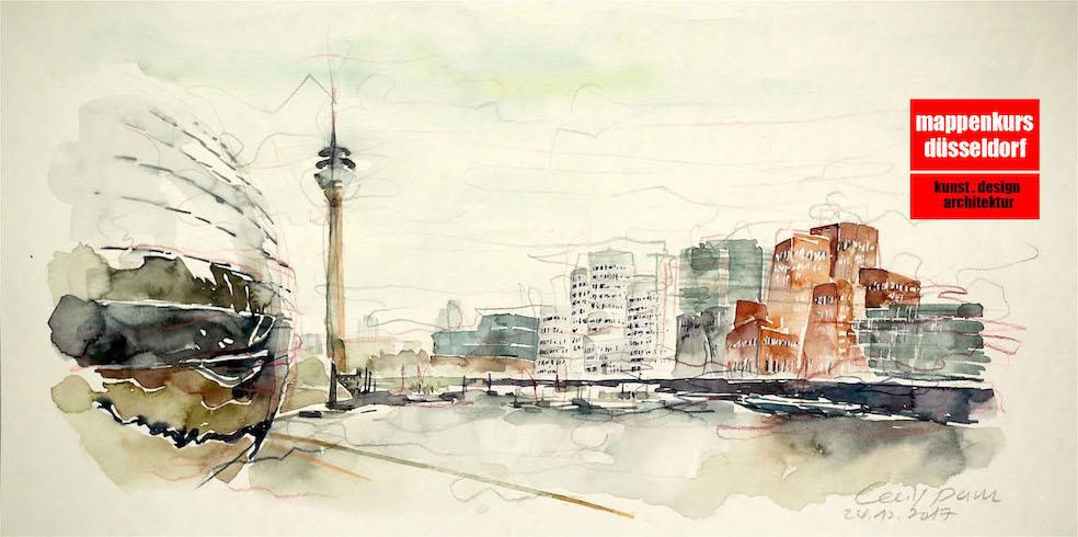 Mappenkurs, Düsseldorf, NRW, Architektur,  Innenarchitektur, Kunstst, Design, Lehrmat
