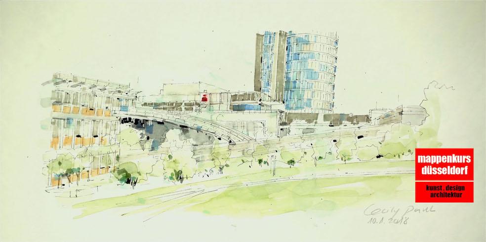 Mappenkurs Düsseldorf, Kunststudium, Designstudium, Architekturstudium, Pforzheim