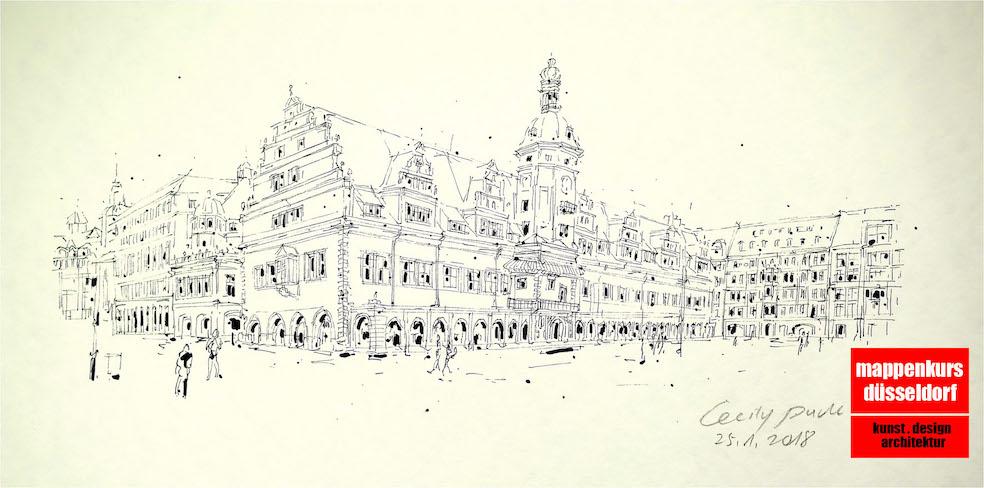Mappenkurs Düsseldorf NRW, Architekturstudium, Kunststudium, Designstudium, Sachsen
