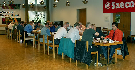 SF Pelikan Schach-Open 2009, im Pelikan Saal