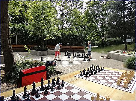 Photo Ferien-Schach im Pelikan Park 2011