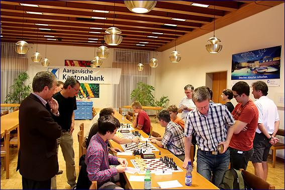 Endphase Schach-Open 2012