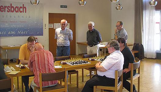 SF Pelikan Schach-Open 2010,  sechs Herren u. eine Dame
