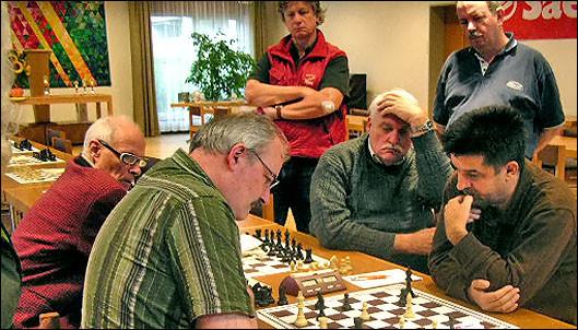 SF Pelikan Schach-Open 2008,  Deibelbeiss / Milosevic