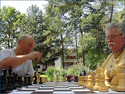 Photo Freizeit-Schach im Pelikan Park 2010