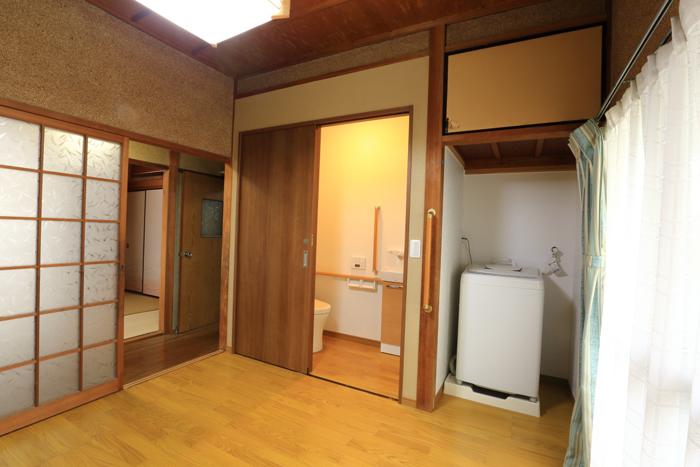 福津市 トイレ移設・間取り変更・和室を洋室へ・手すり取り付け・バリアフリーリフォーム