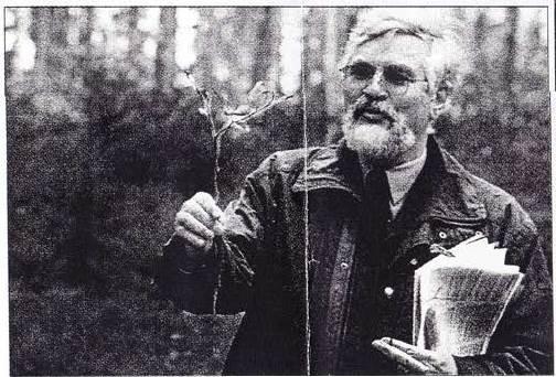 2000: Weihnachtsbaum-Pressetermin: FDir Siegfried Häfele / Forstamt Murrhardt