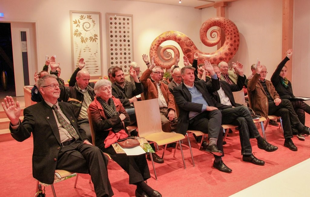 2014: SDW-Mitgliederversammlung im Eins+Alles - Erfahrungsfeld der Sinne / Welzheim